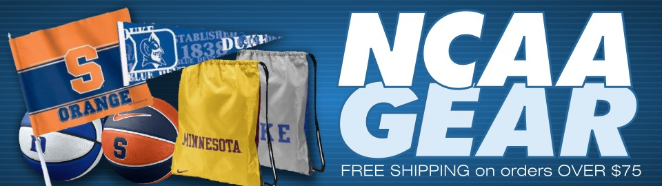 NCAA Gear - Free Shipping on orders up to $75