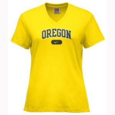 buy popular 6e061 49719 Oregon Ducks Clothing: Women's Nike Arch T-shirt