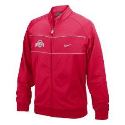 Ohio State Nike Full Zip Poly Fleece Jacket
