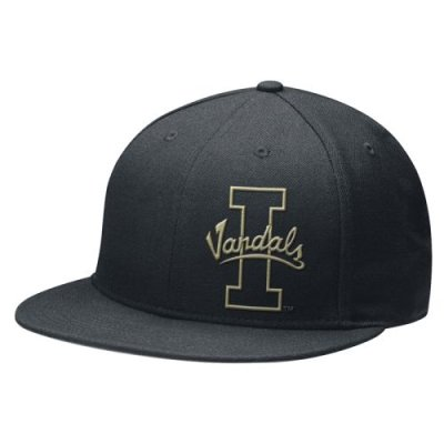 Nike Idaho Vandals 643 Stealth Fitted Flat Bill Hat