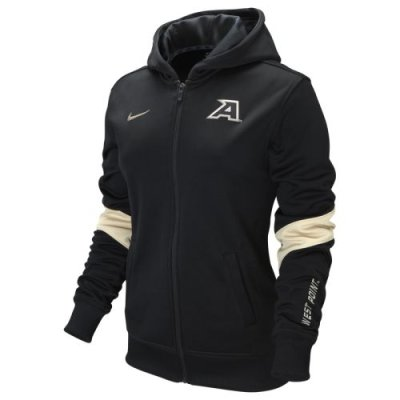 Nike Army Black Knights Womens Full Zip Performance Hooded