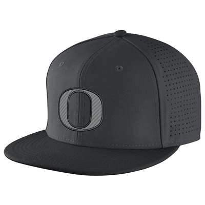 Nike Oregon Ducks Dri-FIT Authentic Fitted Hat - Charcoal 21dab55f9b2