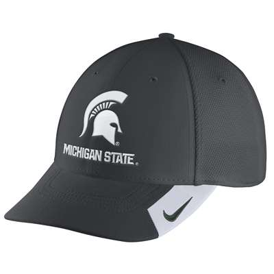 new style 4b2be 894fd ... shopping nike michigan state spartans legacy 91 swoosh flex hat 37de7  63229