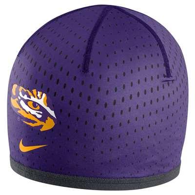 72e98cf614a Nike LSU Tigers Reversible Training Knit Beanie