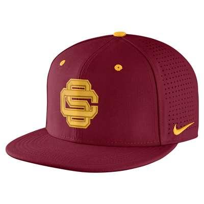 Nike USC Trojans Fitted Baseball Hat 9c855ab0c6c