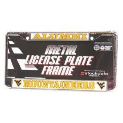 West Virginia Mountaineers Alumni Metal License Plate