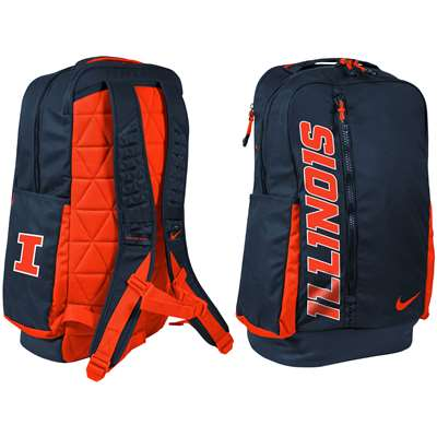 92d2a3e8b8 Nike Illinois Fighting Illini Vapor Power 2.0 Backpack