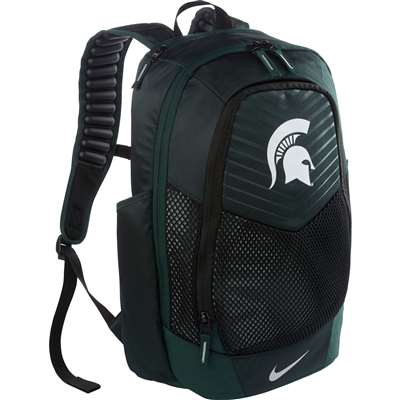 nike michigan state spartans vapor power backpack