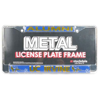 Uc Irvine Anteaters Alumni Metal License Plate Frame W