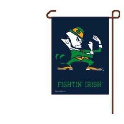 Notre Dame Garden Flag By Wincraft