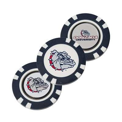 Gonzaga Bulldogs Golf Poker Chip