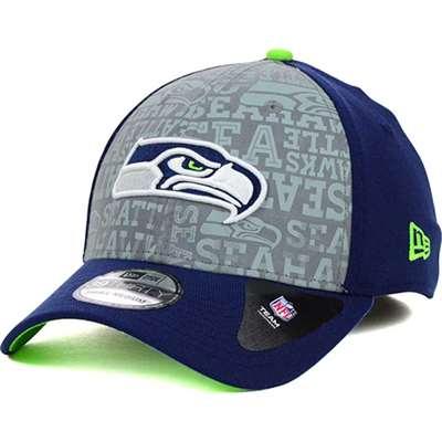Seattle Seahawks New Era 39Thrity 2014 NFL Draft Hat b9636927ac7