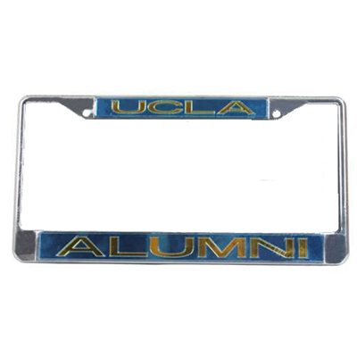 Ucla Bruins Metal Alumni Inlaid Acrylic License Plate Frame - Large ...