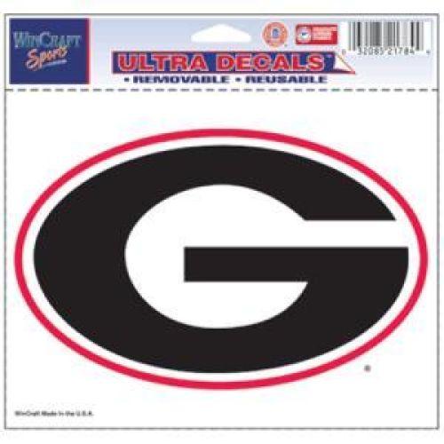 """Wincraft Georgia Bulldogs Ultra Decal 5"""" x 6"""" at Sears.com"""