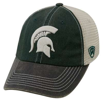 new arrival 02b9f cba3e Michigan State Spartans Top of the World Offroad Trucker Hat