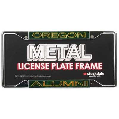 Oregon Ducks Metal Alumni Inlaid Acrylic License Plate Frame