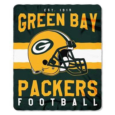 25ee7a1b26d Green Bay Packers Singular Fleece Throw Blanket