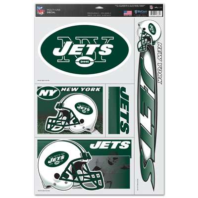 New York Jets Ultra Decal Set 11 X 17