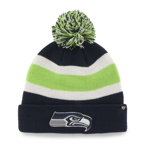 Seattle Seahawks '47 Brand NFL Breakaway Cuff Knit Beanie - Navy