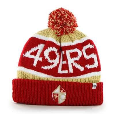 c324a5d59c2 San Francisco 49ers 47 Brand NFL Calgary Cuff Knit Beanie