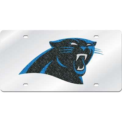 Carolina Panthers Logo Mirrored License Plate