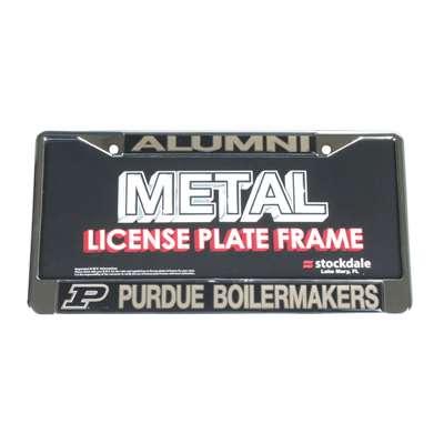 Purdue Boilermakers Alumni Metal License Plate Frame W