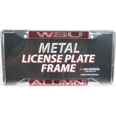 Washington State Cougars Alumni Metal Inlaid Acrylic