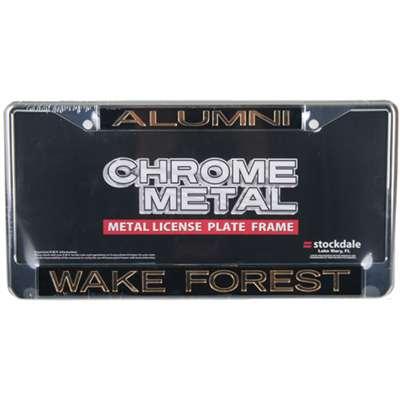 Wake Forest Demon Deacons Metal Alumni Inlaid Acrylic