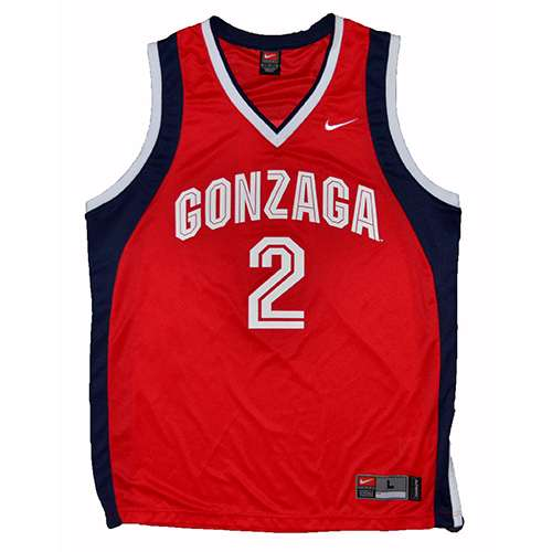 more photos a8a22 39e5b Gonzaga Bulldogs REPLICA NIKE JERSEY