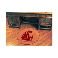 Wsu Cougars Basketball Floor Mat