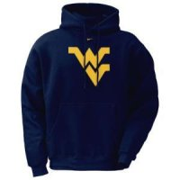 West Virginia Classic Nike Logo Hoody