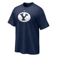 Byu Shirt - Nike Short Sleeve Logo T Shirt
