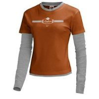 Texas Women's Nike Extra Fine L/s Layer T-shirt