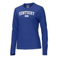 Kentucky Wildcats Women's Nike Arched L/s T-shirt
