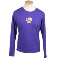Lsu Women's Nike Arched L/s T-shirt