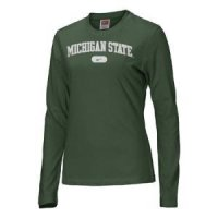 Michigan State Women's Nike Arched L/s T-shirt