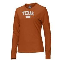 Texas Women's Nike Arched L/s Nike T-shirt
