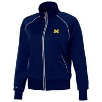 Michigan Women's Nike Track Star Jacket