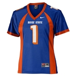 Boise State Broncos Womens Replica Football Jersey - #1 Royal