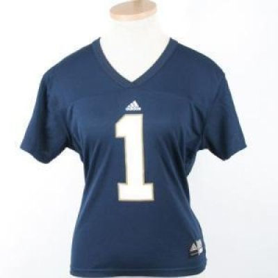quality design a18f3 15c9f Notre Dame Fighting Irish Women's Replica Adidas Fb Jersey
