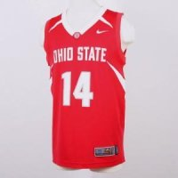 6a41e8bd625 Ohio State Buckeyes Replica Nike Basketball Jersey
