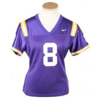 Lsu 2008-09 Women's Replica Nike Fb Jersey