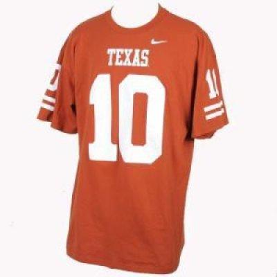 online store 09d8f 00afa Texas Longhorns Replica Nike Burnt Orange Nike T-shirt