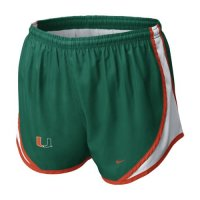 Nike Miami Hurricanes Womens Tempo Short