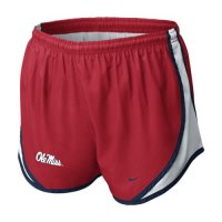 Nike Mississippi Rebels Womens Tempo Short