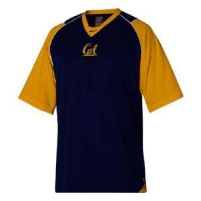 sale retailer f61ad 87857 California Golden Bears Nike Walk-thru Jersey Iii