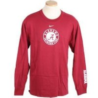 Alabama Crimson Tide Long Sleeve T-shirt By Nike