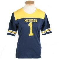 Michigan Women's Replica Nike Fb T-shirt