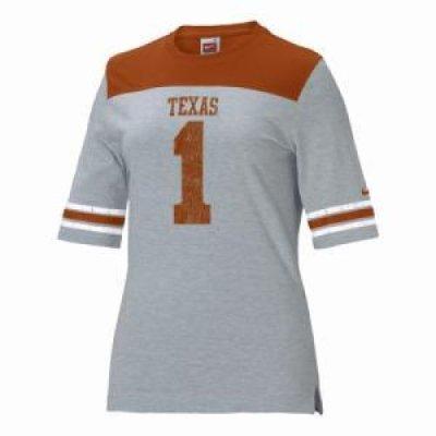 competitive price e1f7f 105bd Texas Longhorns Women's Replica Nike Fb T-shirt