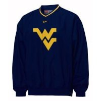 West Virginia Classic Nike Logo Windshirt
